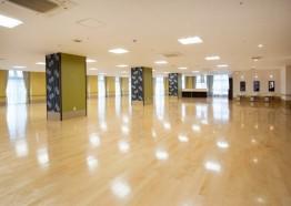13階 食堂兼機能訓練室 北東側
